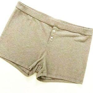 Aerie plush Pj shorts